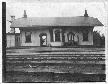 1905 Hopewell Depot at corner of Bridge St.