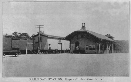 1910 Depot with Freight House
