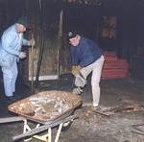 1998 Removing Broken Concrete Flooring