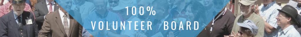 100% Volunteer Board